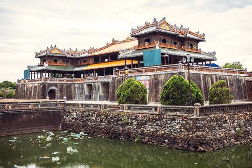 Vietnam, View of citadel in Hue - EH000281