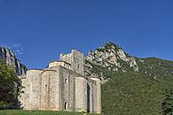 Italy, Marche district, Gola della Rossa Nature Park, Genga, abbey San Vittore alle Chiuse - LOMF000056