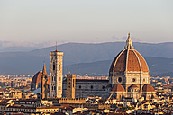 Italy, Tuscany, Florence, Campanile di Giotto and Florence Cathedral - FOF008294