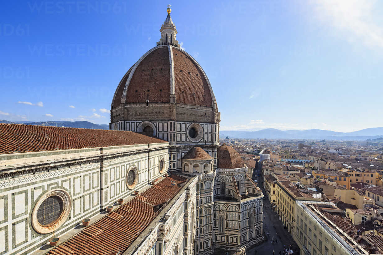Italy, Tuscany, Florence, View of Cattedrale di Santa Maria del Fiore - FOF008318 - Fotofeeling/Westend61