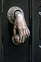 Netherlands, Amsterdam, old door knocker - HOHF001372