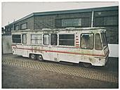 Germany, Hamburg, old motor home - RJ000519