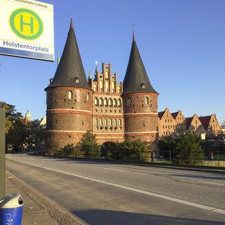 Germany, Luebeck, Holstentor - RJF000522