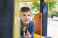 Smiling boy at the playground - EBSF000988