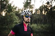 Portrait of cyclist - JRFF000167