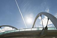 Germany, Duesseldorf, flyover bridge - VIF000440