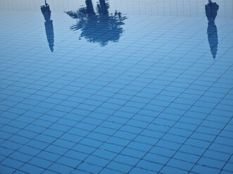 Water surface of swimming pool - LAF001522