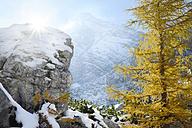 Berchtesgaden Alps, Hochkalter mountain massiv in autumn - HAMF000084