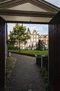 Netherlands, Amsterdam, Beguines yard - EVGF002494