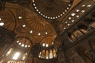 Turkey, Istanbul, Interior of Hagia Sophia - FC000789