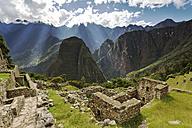 Peru, Cusco, Machu Picchu, Templo del Sol - FPF000070