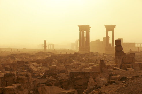 Syria, Homs Governorate, Palmyra,Temple of Bel - FP000073