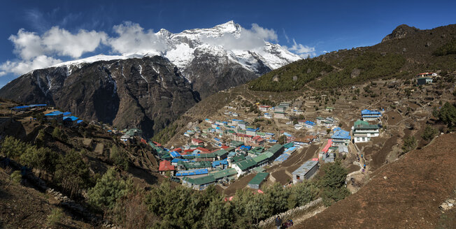 Nepal, Himalaya, Khumbu, Namche Bazaar - ALRF000117