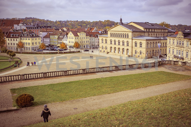 Germany, Bavaria, Coburg, Palace park and theatre - VT000479 - Val Thoermer/Westend61