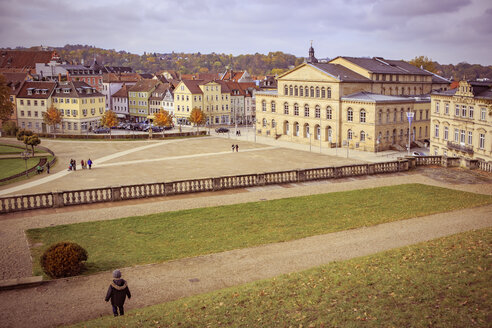 Germany, Bavaria, Coburg, Palace park and theatre - VT000479