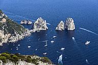 Italy, Capri, View of Faraglioni - WEF000404