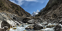 Nepal, Khumbu, Everest region, Ama Dablam - ALRF000139