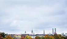 Germany, Munich, Skyline in autumn - KRPF001632