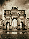 Germany, Munich, Victory Gate - KRPF001640