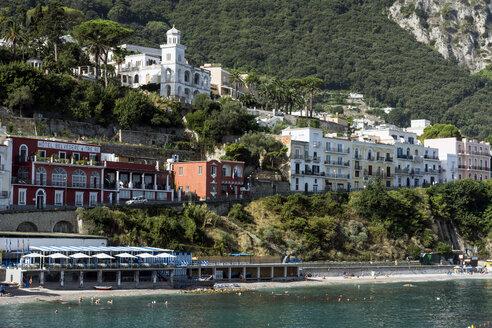 Italy, Capri, lido at Marina Grande - WEF000417