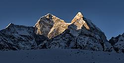 Nepal, Himalaya, Khumbu, Kangtega - ALRF000157
