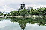 Japan, Hiroshima, Nakajima-cho, view to palace - THAF001467