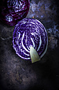 Sliced red cabbage - KSWF001674