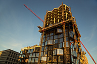Germany, Munich, construction site, high-rise building - TMF000073