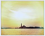 Italy, Venice, San Giorgio Maggiore, church, sunrise - MEMF000918