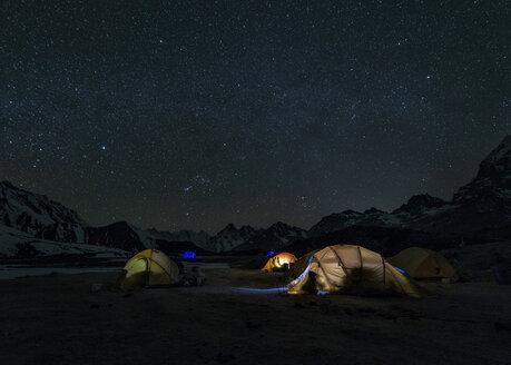 Nepal, Himalayas, Khumbu, Everest Region, Ama Dablam Base Camp - ALRF000188