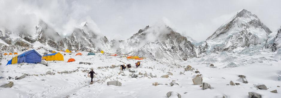 Nepal, Himalayas, Khumbu, Everest Region, Everest Base Camp - ALR000200