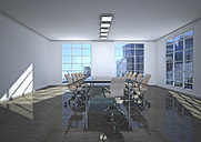 Empty conference room, 3D Rendering - ALF000662