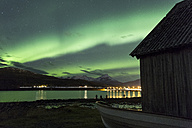 Norway, Troms, Northern lights - STSF000975