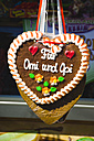 Gingerbread hearts with German inscription - GSF001010