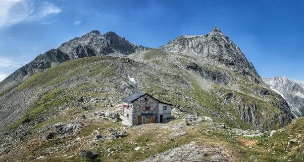 Switzerland, Valais, Wiwannihorn, Wiwanni hut - ALRF000205