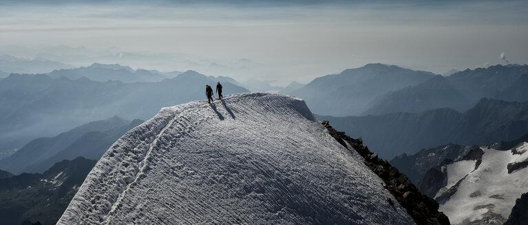 Switzerland, Wallis, Saas Grund, Pennine Alps, Weissmies - ALRF000214