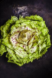 Endive salad on dark ground - KSWF001704
