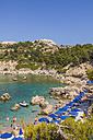 Greece, Rhodes, Anthony-Quinn-Bay near Ladiko - WDF003449