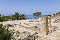Greece, Rhodes, Kamiros, ancient city, ruin - WD003469