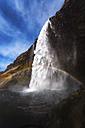 Iceland, Seljalandsfoss Waterfall - SMAF000404