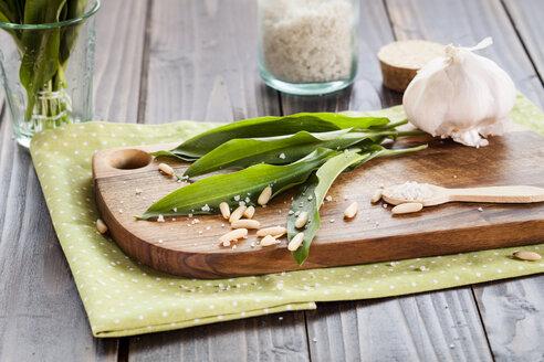 Ingredients for ramson pesto - SBDF002531