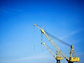 Canada, Vancouver, harbour cranes - DISF002282