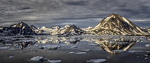 Greenland, Schweizerland, Mountains near Kulusuk - ALRF000234