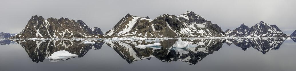 Greenland, Kulusuk, Panorama of Schweizerland - ALRF000240