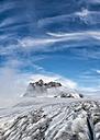 Greenland, Schweizerland, Mountains near Kulusuk, clouds - ALRF000243