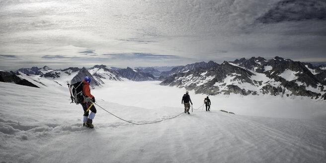 Greenland, Schweizerland, Kulusuk, mountaineer - ALRF000249