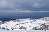 Germany, Schauinsland in winter, winter landscape - BSTF000098