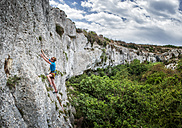 Gozo, Mgarr IX Xini, rock climber - ALRF000273