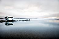 Austria, Carinthia, Klagenfurt, Woerthersee, lake and mooring area - DAWF000371