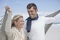 Happy couple on the beach - ZEF007711